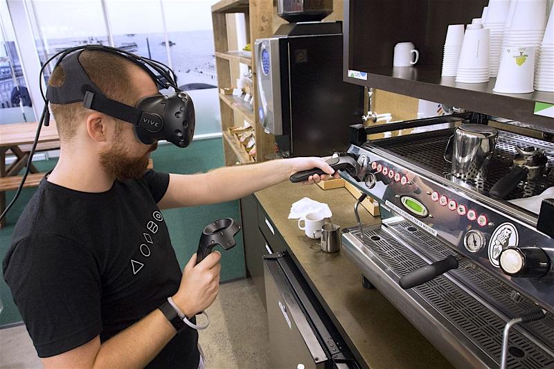 VR For Barista Training
