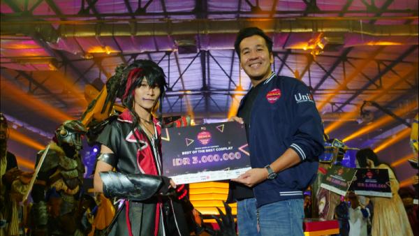 unipin hadirkan cosplay terbesar