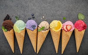 ice cream unik