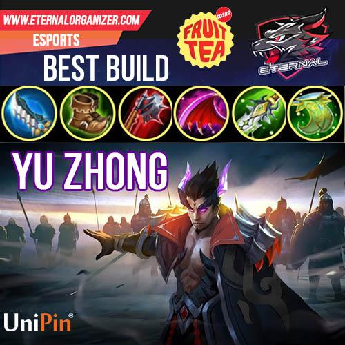 Best build yu zhong mobile legends