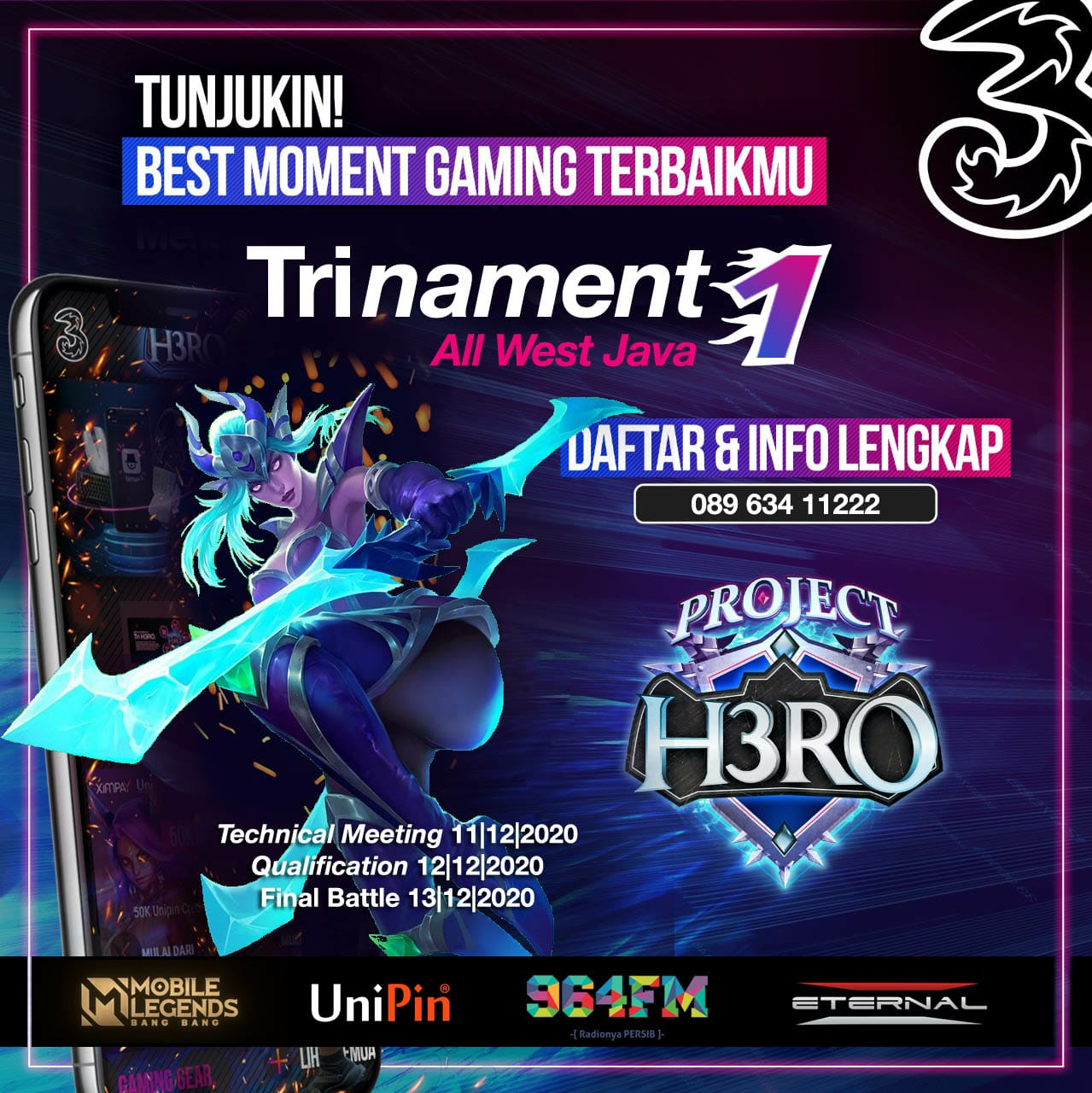 Trinament Heroes Mobile Legends Competition