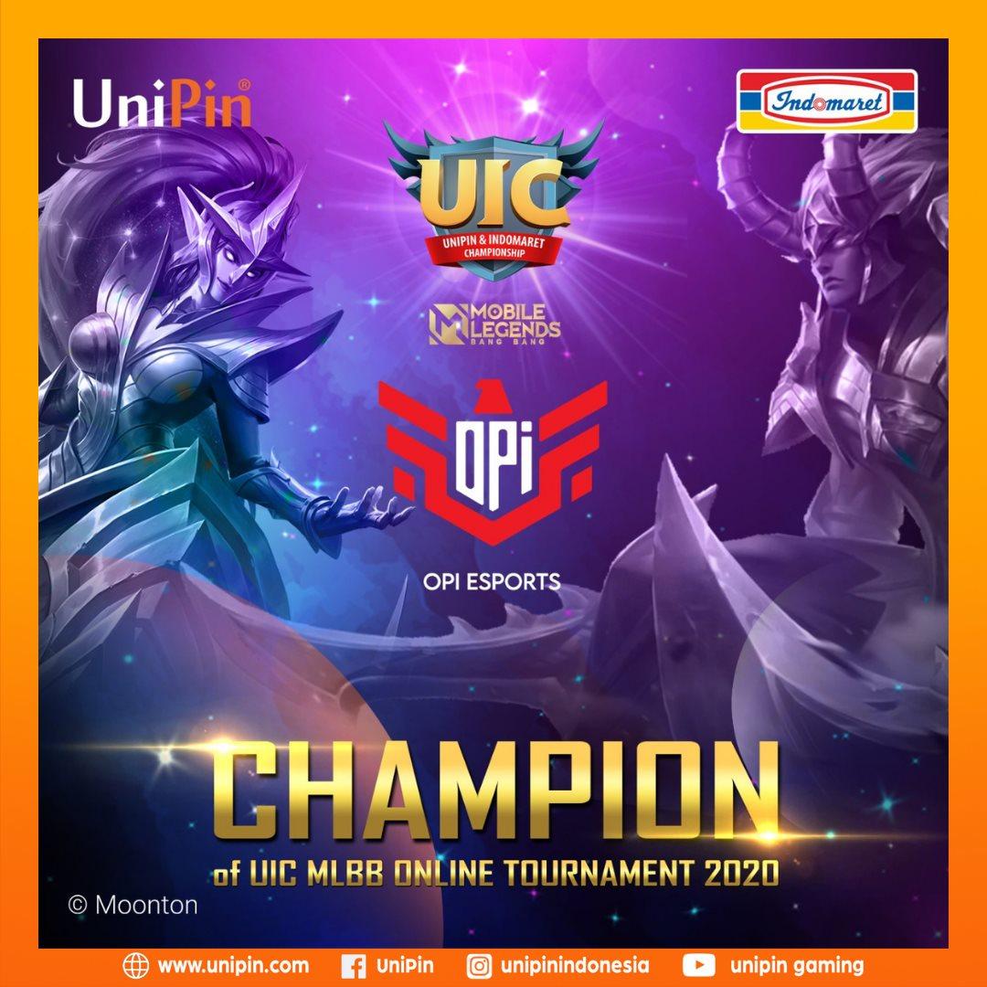 Winner Unipin Indomaret Championship