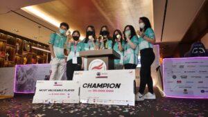 Belletron Era Boyong Piala UniPin Ladies Series MLBB 2021