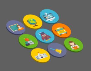 Adobe Illustrator 3D flat icon