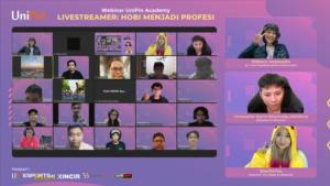 Pengalaman Profesi Live streamer